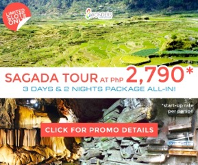 Sagada Tour Package Promo 2015